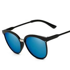 Mujer ' s Vintage Retro Espejo Diseño Plano Lentes Gafas de sol gafas gafas