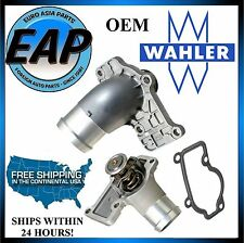 Porsche 911 Boxster Cayman OEM Wahler Engine Coolant Thermostat W/ Cover W/ Seal