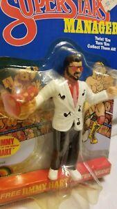 "WWF LJN Wrestling Superstars Jimmy ""Mouth of the South"" Hart - MOC - Encased"