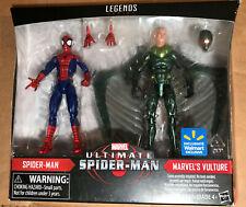 Marvel Legends Ultimate Spider-Man & Vulture Exclusive 2-Pack Action Figure Set