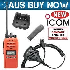 Icom IC-41PRO 80 Channels UHF Portable/Handheld CB Radio - Orange