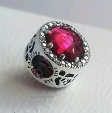PANDORA Disney, Belle's Radiant Rose Charm 792140NCC Authentic NWT with pouch