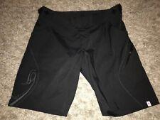 Specialized womens L Nylon Enduro Shorts Adjustable Waist Black Cycling SP SHT