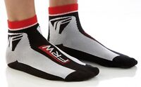 2 PARES CALCETINES CICLISMO FRW THERMOLITE color NEGRO-ROJO-BLANCO