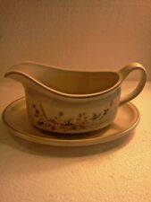 Harvest 1418 Gravy Boat and Plate.