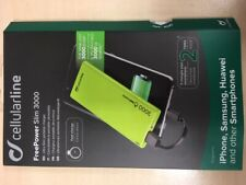 Cellularline Freepslim3000g Powerbank Power Slim 3.000mah grün