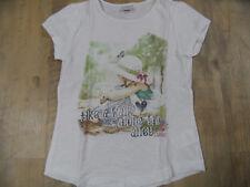 S.OLIVER schönes Shirt m. Druck Mädchen weiß Gr. 128/134 TOP ST318
