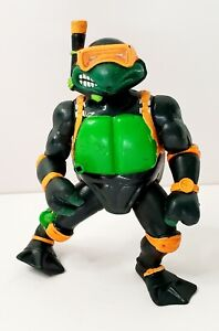 """1992 Playmates TMNT Mutant Military Navy Seal Mikey Loose 5"""" Action Figure"""