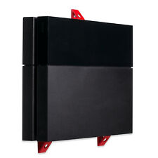 Wall Mount for Playstation 4 PS4 Original Game Console - Red