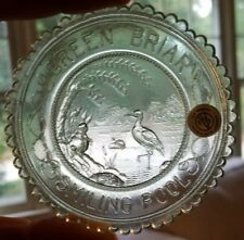 Smiling Pool Green Briar series Pairpoint Cup Plate Thornton Burgess  light blue