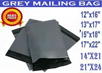 """STRONG LARGE GREY MAILING BAGS 12 X 16 """" 13 X 19 """", 15 X 18 """", 17 X 22 """"21 X 24"""
