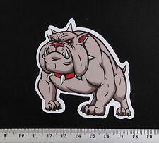 Pit bull Bulldog PVC Sticker Cartoon Laptop Decal Bumper Guitar Skateboard JDM