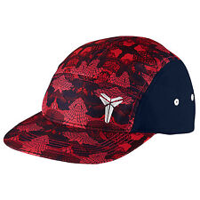 NIKE Kobe AW84 Strapback Cap Adult One Size Obsidian Red White Running Cycle USA