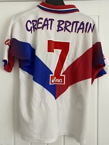 """Great Britain 1997 Rugby League Shirt 42"""" No.7"""
