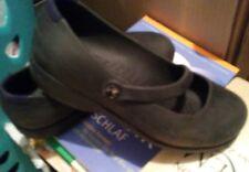 Crocs schwarz ballerinas mary jane leicht absatz w5