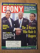 EBONY Magazine Atlanta's Olympic Miracle - Annual Health & Fitness July 1996