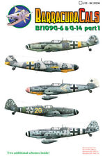 Barracuda DECALS 1/32 Messerschmitt Bf 109G-6 et G-14 partie 1 # 32230