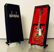 Marc Bolan (T. Rex): Gibson Les Paul - Guitar Miniature Replica (UK Seller)
