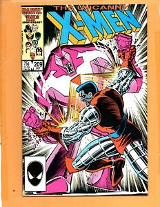 THE UNCANNY X-MEN #209  Direct Edition Hellfire Club Spiral VF+ to VF/NM