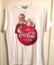 Santa Coca-cola T-shirt Christmas Claus coke