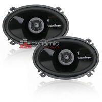 "RockFord Fosgate Punch P1462 Car Audio 4""x6"" Punch 2-way Coaxial Speakers New"