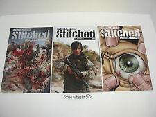 Stitched 3 Comic Lot #1 Gore 2 Photo 4 Gore Avatar Garth Ennis Wolfer Crossed