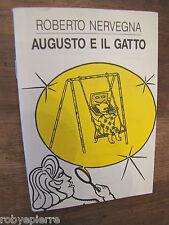 Edizioni Stampa Alternativa 1992 AUGUSTO E IL GATTO Roberto Norvegna robyepierre