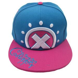 Anime One Piece Tony Chopper Baseball Cap Hip-Hop Unisex Sun Hat Cosplay Fashion