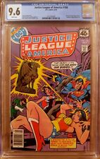 Justice League of America #166 CGC 9.6 WHITE PAGES 1979