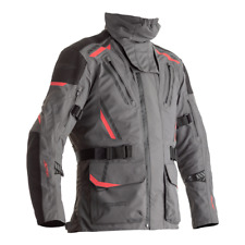 RST Pro Series Pathfinder Laminated Waterproof Motorcycle Jacket - Grey / Red
