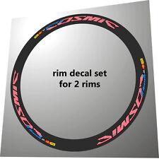 mavic cosmic carbon sl/slr usa flag design ersatz rim decals für 2 felgen