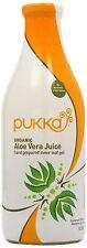 Pukka Organic Aloe Vera Juice 1Ltr (Pack of 8 Bottles)