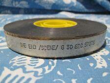 16mm TV Spots Film Reel Color Sound The End Burt Reynolds Dom DeLuise