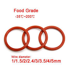 2.5 x 1.5mm Silicone 70 O/'Ring 50x