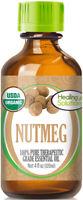 Organic Nutmeg Essential Oil (100% Pure - USDA Certified Organic)