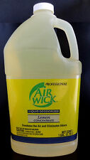 Air Wick Professional Liquid Deodorizer Lemon Concentrate Freshens Air ~ 1 Gal.