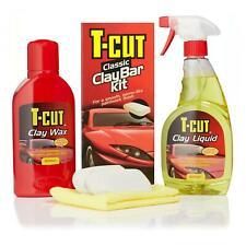 T-Cut Classic Clay Bar Kit Car Paintwork Restorer Wax Polish