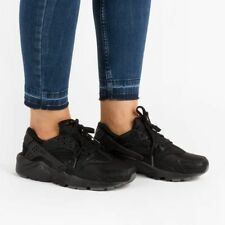 NIKE HUARACHE RUN SE (GS) YOUTH SIZE 6 EUR 39 (909143 001)BLACK