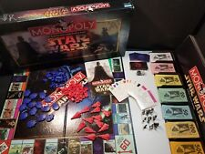 Star Wars Monopoly Classic Trilogy Edition Parker Brothers 1996