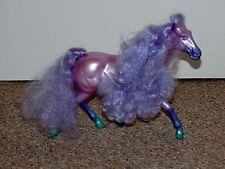 Vintage 1987 Kenner Fashion Star Fillies Joelle Purple Horse Doll