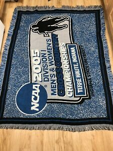 The Northwest Company NCAA 2005 Indiana State University Tapestry Blanket