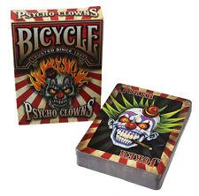 CARTE DA GIOCO BICYCLE PSYCHO CLOWNS,poker size