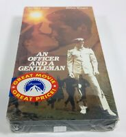 An Officer And A Gentleman VHS 1982 Classic Movie BRAND NEW SEALED Tape