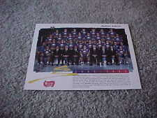 1992 Buffalo Sabres NHL Hockey Team Photo