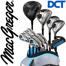 MACGREGOR DCT PREMIUM DELUXE LADIES COMPLETE GOLF SET & CART BAG