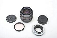 Vivitar 35mm f2.8 Lens 35/2.8 Wide Prime+Nikon non-Ai+TX Changeable Mount++NICE