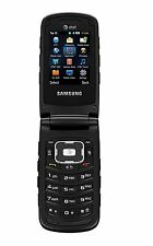 Samsung SGH-A847 Rugby 2 Flip Phone - LOT OF 2, CHARGERS INCLUDED