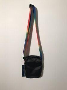 New Nwt Lgbqt Janspott Unisex Weekender Fx Rainbow Cross Body
