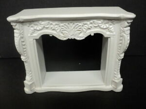 DOLLHOUSE FIREPLACE- WHITE