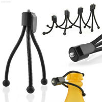 594E F6F6 Mini Tripod Monopod Flex Hose Holder Video Mobile Phone Camcorder